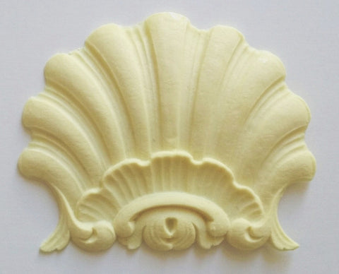 Large clam shell silicone mold - mould