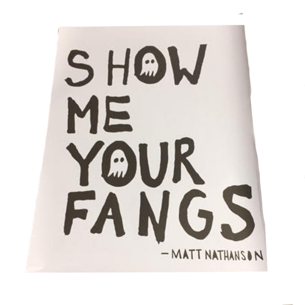 Show Me Your Fangs Poster