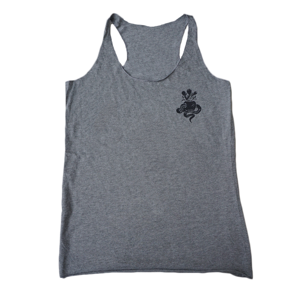Apple Grey Ladies Tank