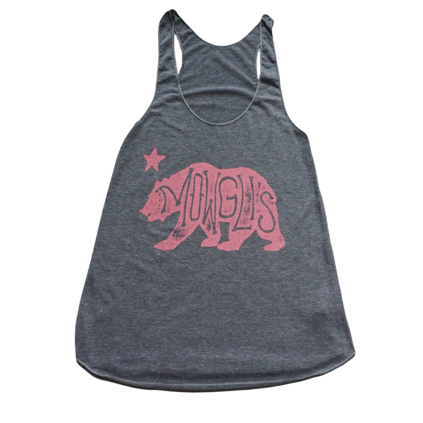 Grey Cali Bear Tank