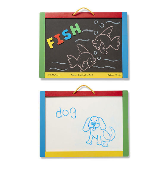 Magnetic Chalkboard and Dry Erase Board