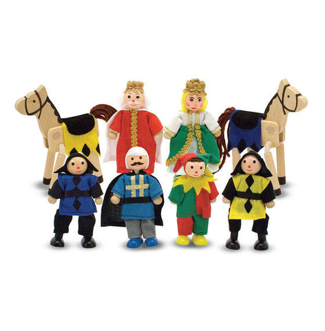 Castle Wooden Figure Toy Set