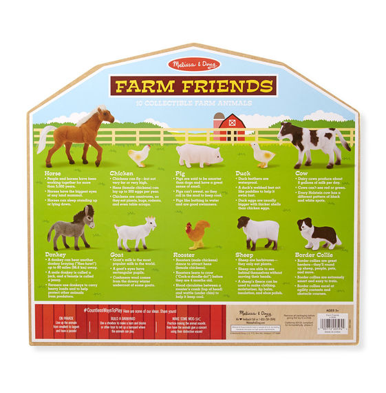 Farm Friends Play Toy Set