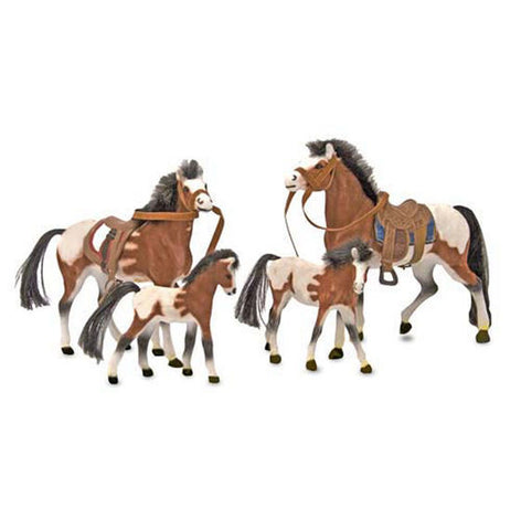 Horse Family Toy Set