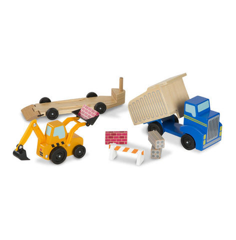 Dump Truck and Loader Car Set