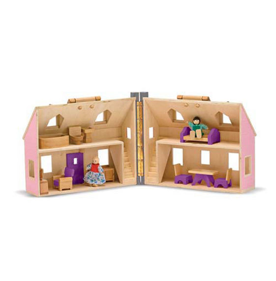 Fold and Go Doll House