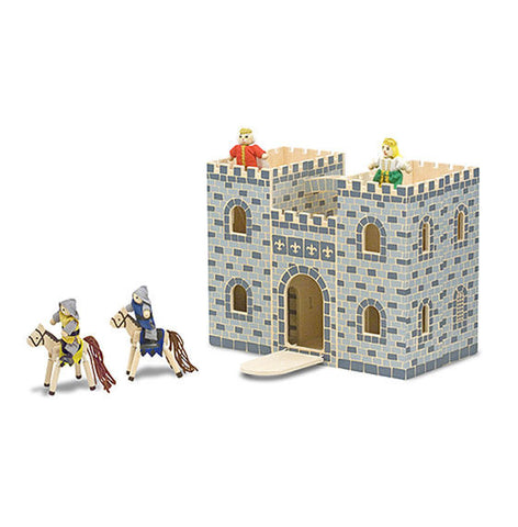 Fold and Go Castle Toy Set