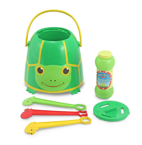 Tootie Turtle Bubble Bucket