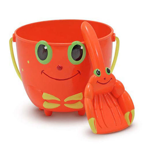 Clicker Crab Pail and Scoop Set