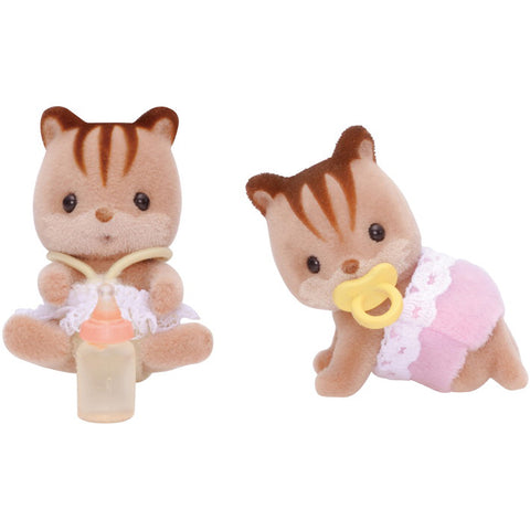 Hazelnut Chipmunk Twins Set