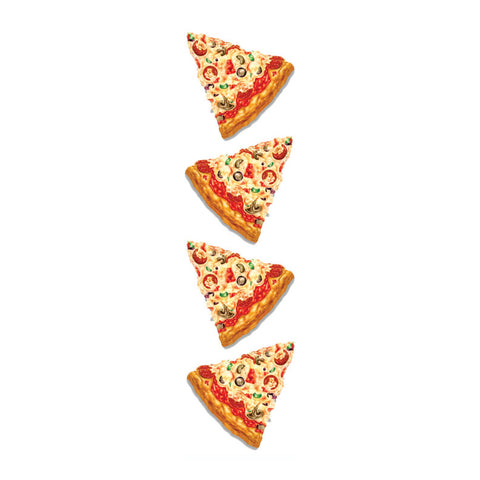Cute Pizza Stickers