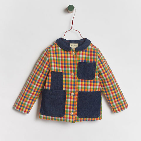 Pablo Quilted Jacket- Plaid