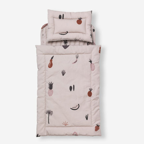 Fruiticana Doll Bedding Set