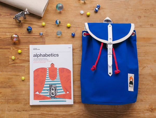 Mini Sailor Backpack- Blue