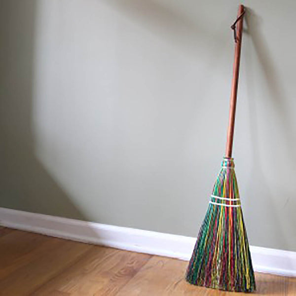 Child's Rainbow Broom- Regular Size