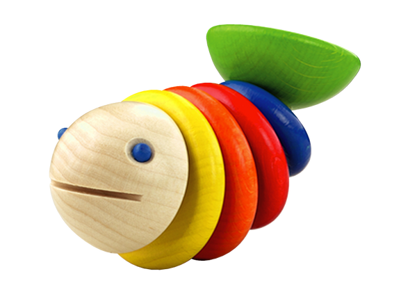 Moby Fish Rattle Toy