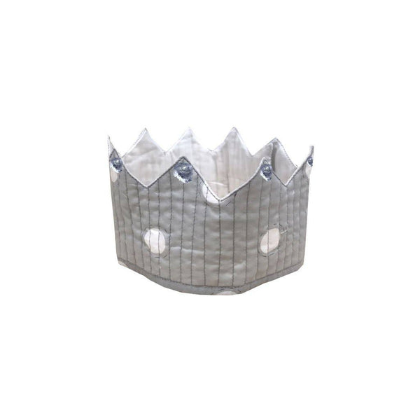 Grey Royal Dress Up Set- Crown, Cape, and Wand