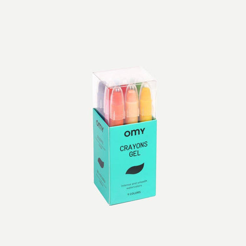 Gel Crayons Set