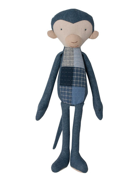 Indigo Patch Blue Monkey Doll