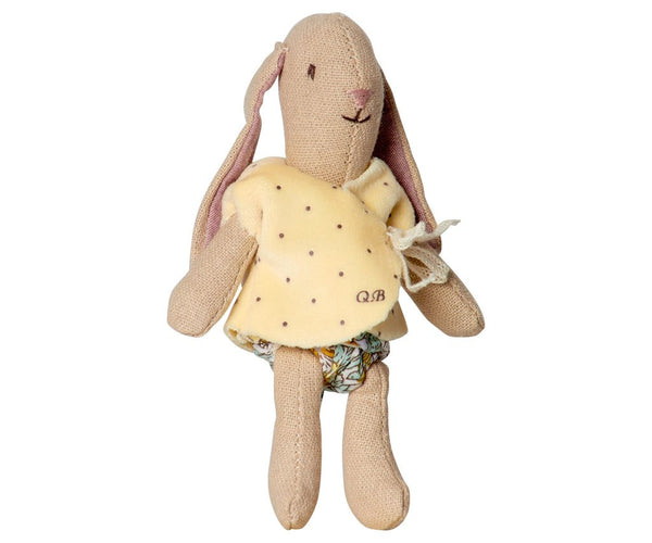 Micro Bunny with Yellow Vest Doll