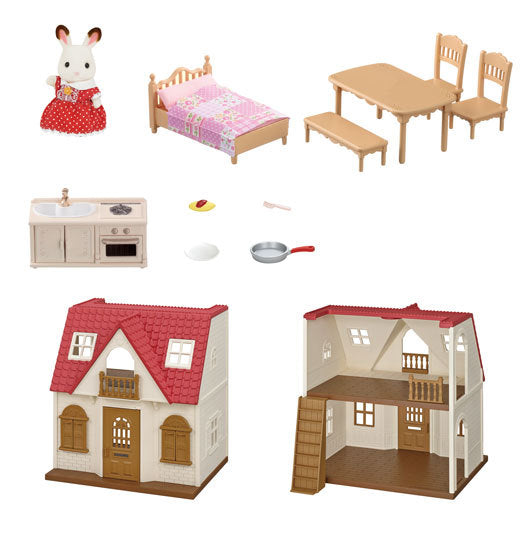 Red Roof Cozy Cottage Kit