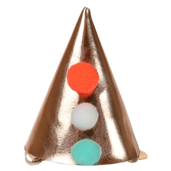 Mini Candle Pointed Party Hat Hair Clip