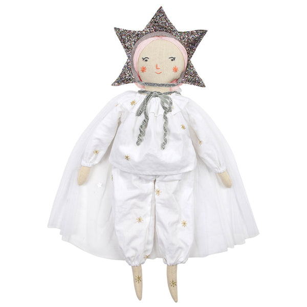 Doll Star Headdress and Cape Dress Up Set