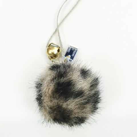 Emma Gray Pom Fur Necklace