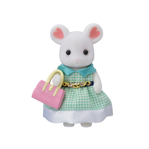 Town Girl Marshmallow Mouse