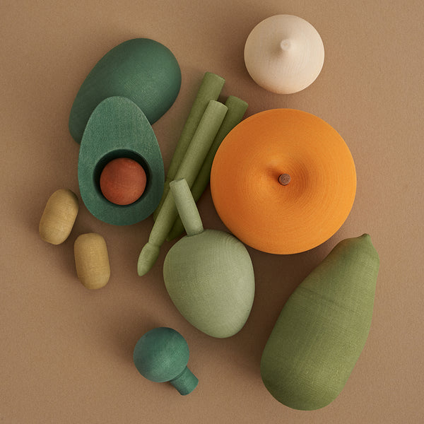 Wooden Vegetables Toy Set- #2