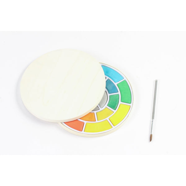 Round Watercolor Set