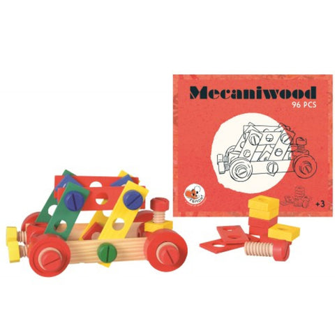 Mecaniwood 96 pc. Building Kit