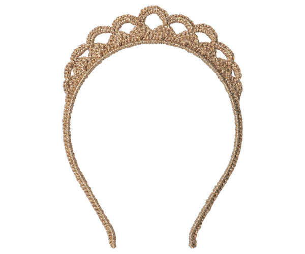 Gold Tiara in a Gift Box