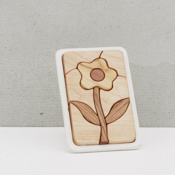 Wooden Flower Puzzle