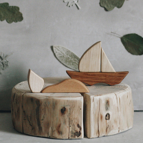 Wooden Boat Puzzle