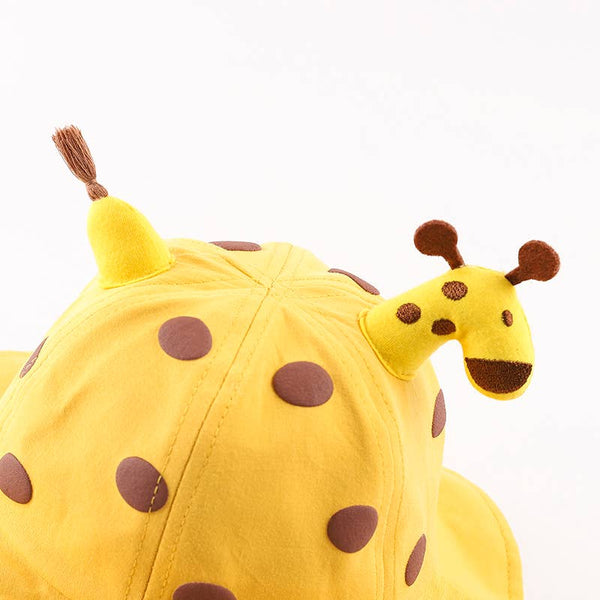 Giraffe Face Shield Hat- 4 Colors Available