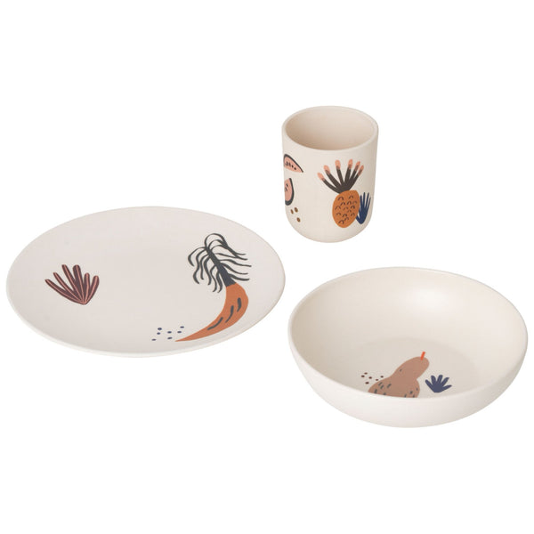 Fruiticana Children's Bamboo Dinner Set