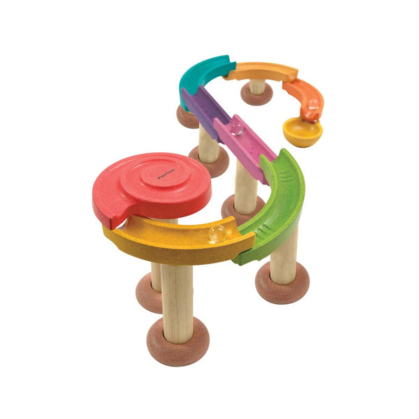 Wooden Deluxe Marble Run Toy