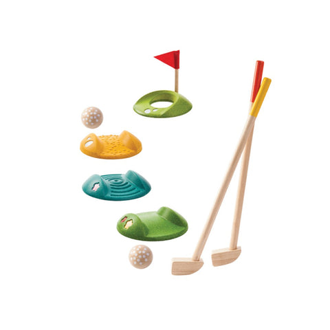Wooden Golf Play Kit