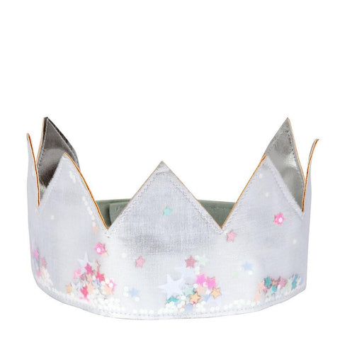 Silver Shaker Dress-Up Crown