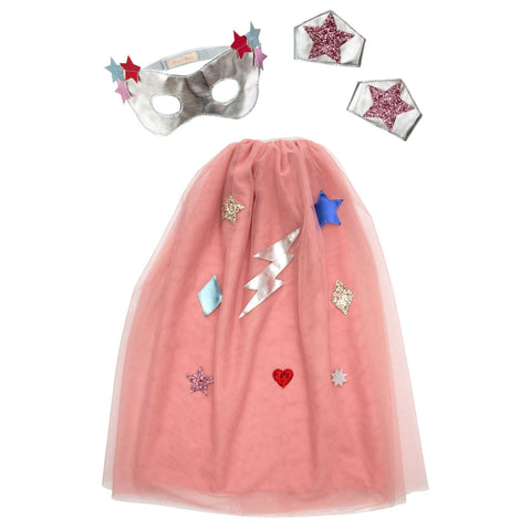 Superhero Cape Dress Up Set