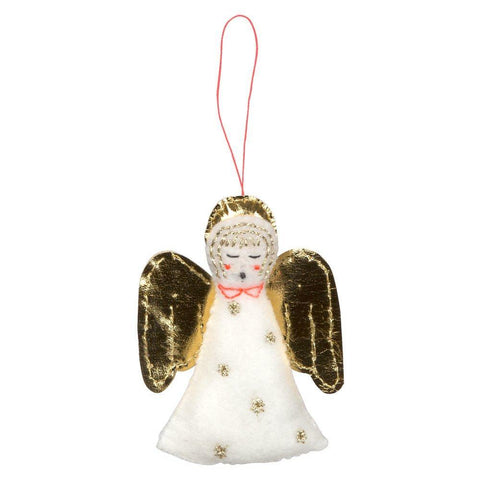 Angel Felt Tree Ornament Set