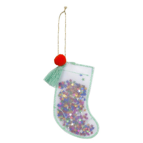 Stocking Shaker Tree Ornament