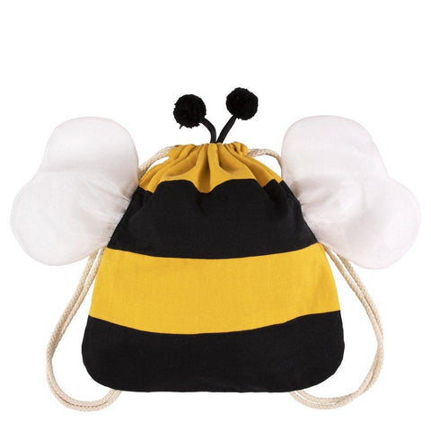 Bumble Bee Drawstring Backpack Bag