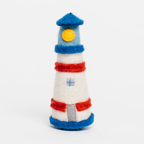 Wool Felt: Guiding Lighthouse Toy