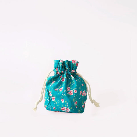 French Little Drawstring Bag- Pattern #2