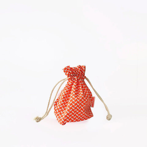 French Little Drawstring Bag- Pattern #3