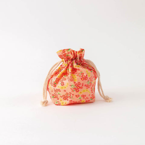 French Little Drawstring Bag- Pattern #4