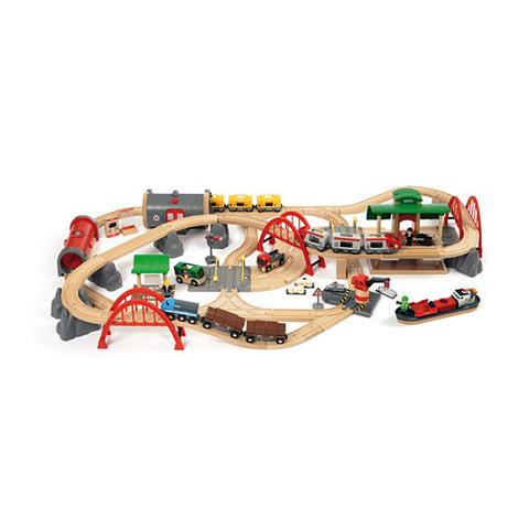 Deluxe Railway Train Set