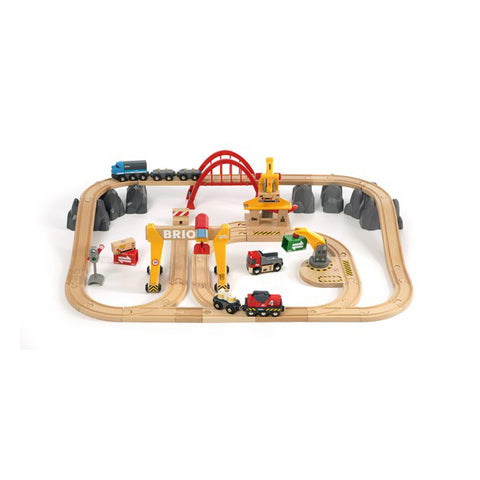 Cargo Railway Deluxe Train Set